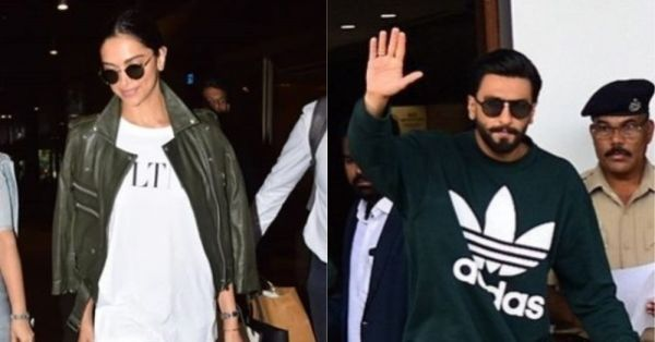 Deepika Padukone & Ranveer Singh's New Fashion Statement Has Effortless Style Written All Over It