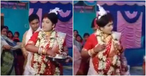 This Bengali Bride Is Going Viral For Breaking Sterotypes And Being A Total Badass!