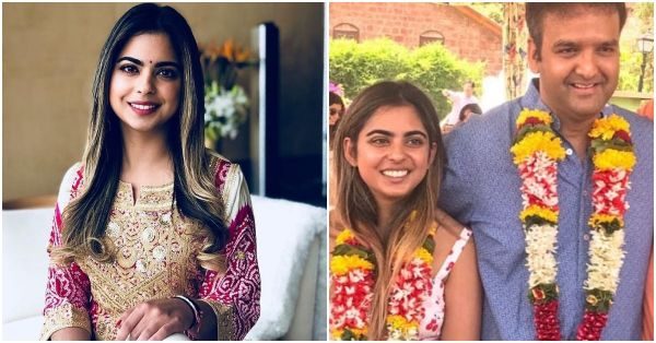 Newly Wed Isha Ambani Piramal Reveals Why She Cried During Her 'Bidaii'!
