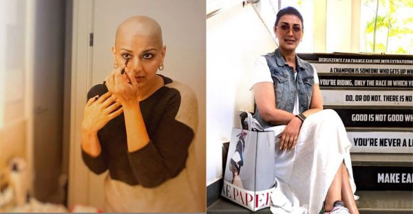 'It's A Surreal Feeling': Sonali Bendre Gets Back To Work Post Cancer Treatment