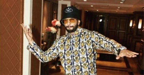 Is Ranveer Singh's Outfit Actually A Night Suit Or Not? We'll Let You Decide!