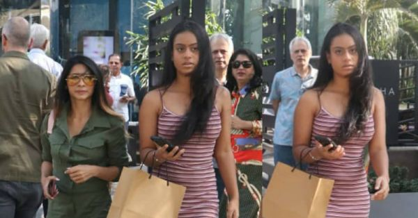 Nysa Devgan Stepped Out For Lunch With *This* Celeb & It Was Hot N' Happening!