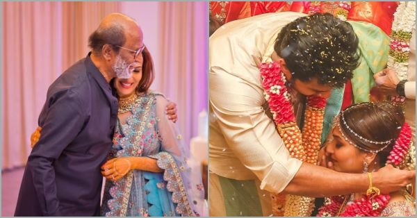 Rajnikanth's Daughter Soundarya Married Actor Vishagan And Here Are All The Beautiful Pictures