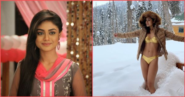 Uttaran's Sreejita De Stepped Out In A Bikini In -10 Degrees: Wanted To See How It Feels