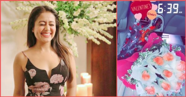 Neha Kakkar Receives A Surprise On Valentine's Day And No, It's NOT From Ex  BF Himansh Kohli