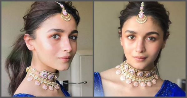 Bestie Ki Shaadi: Alia Went With No Shimmer No Heavy Makeup & She STILL Looked Khoobsurat