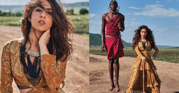 Twitteratti Call Out Sara Ali Khan's 'Racist' Photoshoot With Kenyan Tribesmen