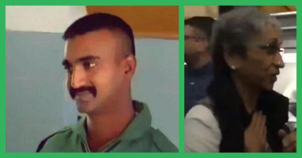 IAF Pilot Wing Commander Abhinandan Varthaman's Parents Get Standing Ovation On Their Flight