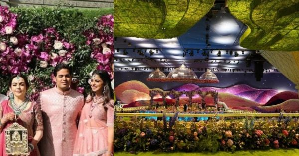 All The Inside Pictures From Akash Ambani And Shloka Mehta's Stunning Wedding Venue