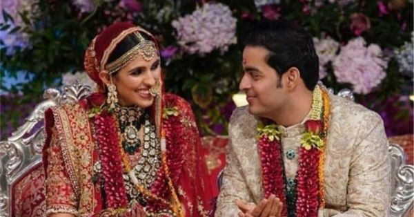 The Ambani's Nayi Bahu Was GLOWING: A Look At Shloka Mehta's Bridal Hair & Makeup