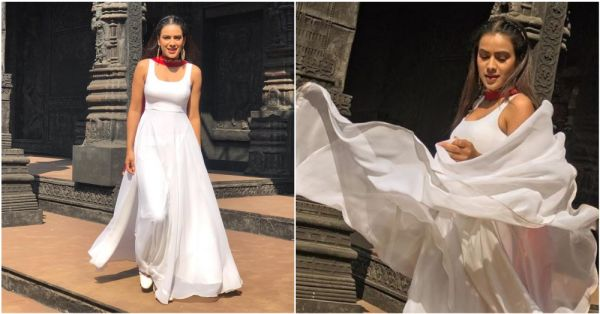 Nia Sharma Shaking A Leg To Rajasthani Folk Music In Jaipur Is Giving Us 'Ghoomar' Feels