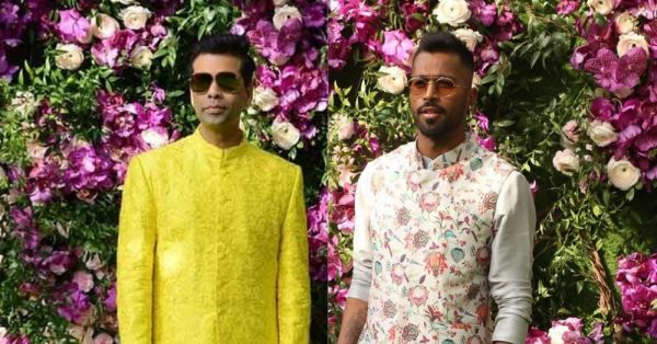 Koffee Under The Bridge: Karan Johar & Hardik Pandya Dance At The Ambani Wedding