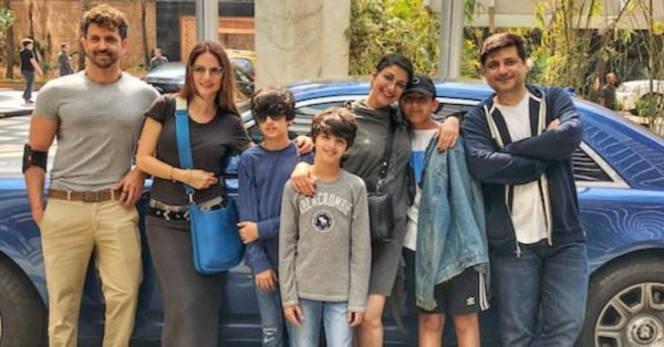 New Normal: Sonali Bendre Shares Photographs With Hrithik Roshan & Sussanne Khan