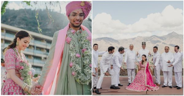 The Intimate Mountain Wedding Of Designer Anita Dongre's Son Is The Modern Day Fairytale We Want