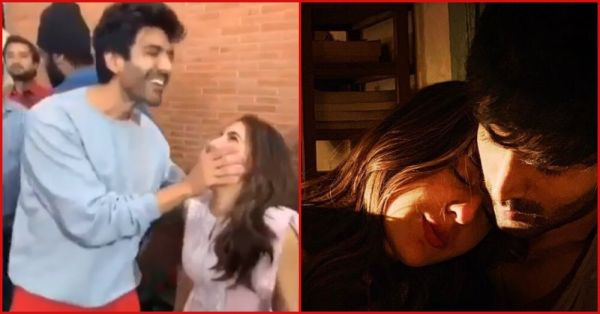 Video: Sara Ali Khan Embarrasses Kartik Aaryan On The Set Of Love Aaj Kal 2
