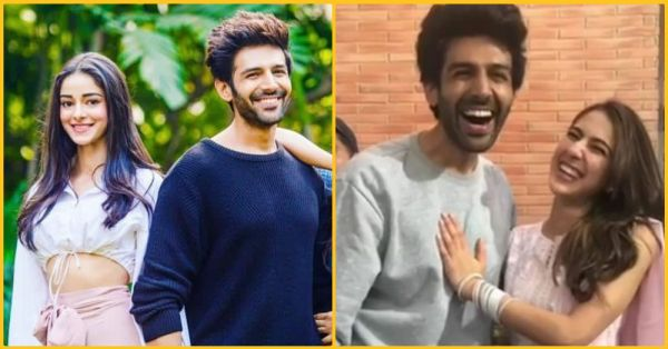 Iss Angle Mein Hai Triangle: Ananya Panday Is Upset With Kartik Aaryan Because Of  Sara Ali Khan
