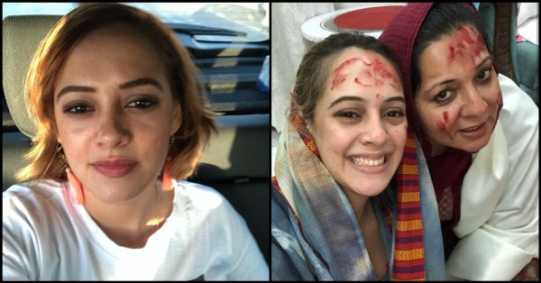 Hazel Keech Thanks Saasu Ma For Encouraging Her To Get Her Nose Fixed