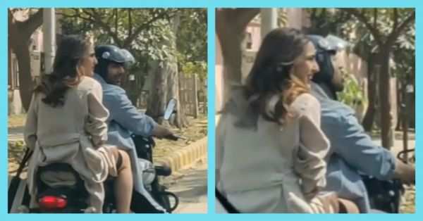 Bike Ride With Kartik Aaryan Lands Sara Ali Khan Into Trouble With Delhi Traffic Police