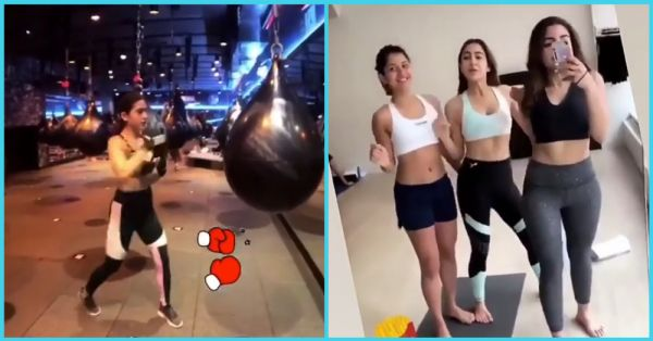 Sara Ali Khan's Vacay Videos Prove BFFs Who Work Out Together, Stay Together!