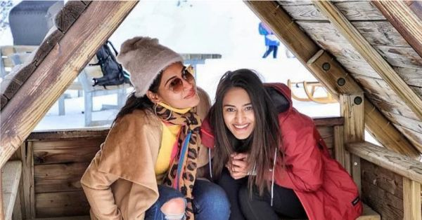 Kuch BFF Goals Aise Bhi: Erica Fernandes Is Crushing Over Bestie Surbhi Chandna