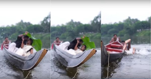 A Couple Fell In The River During Their Pre-Wedding Shoot & The Internet Can't Stop Laughing