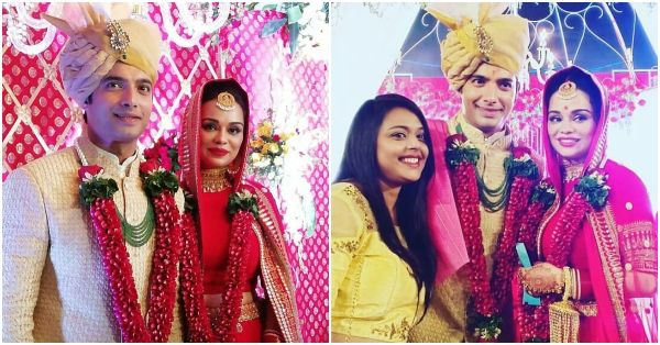 You Can't Miss These Photos Of Sharad Malhotra And His *Dulhan* From Their Picture-Perfect Wedding