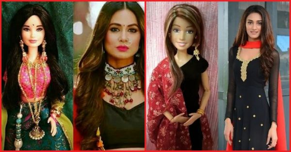 Life In Plastic, It's Fantastic: After Taimur, Hina Khan And Erica Fernandes Also Get Their Own Dolls