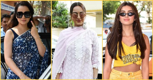 Kiya Kya? Bollywood's Fashion Choices On Poll Day Deserve Your Precious Vote