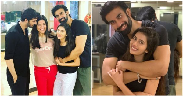 Sushmita Sen's Brother Got Engaged And Their Circle Of Love Will Make You All Fuzzy Inside!