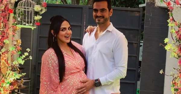 See Pics: Esha Deol's Surprise Baby Shower Took Place In A Secret Garden And WOW!