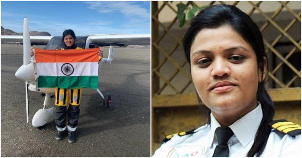 23-Year-Old Aarohi Pandit Becomes The World's First Female Pilot To Fly Solo Across The Atlantic