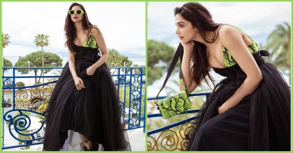 Deepika Padukone Flaunts A Naughty Neon Colour At Cannes & It Looks Perfect For Dusky Women