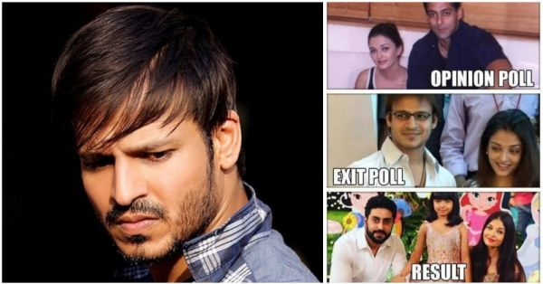 Vivek Oberoi Shares A Disrespectful Meme About Aishwarya Rai & Gets Schooled On Twitter