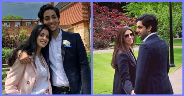 Shweta Bachchan Nanda Celebrates Son Agastya's Graduation In London With Daughter Navya Naveli