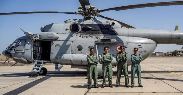 Making History: Indian Air Force's All-Women Crew Flies Mi-17 Chopper For The First Time