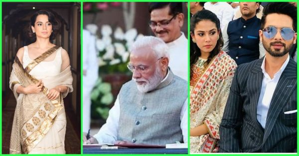 Pictures: PM Narendra Modi's Swearing-In Ceremony Was A Bollywood Shaadi In Disguise!