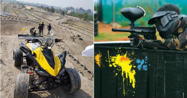 If You're A Thrill Seeker, You Can Experience These 7 Adventure Sports In Delhi Itself!