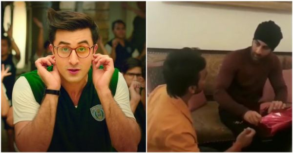 Ranbir Kapoor Gets Trolled For Letting Fan Sit On The Floor & Touch His Feet: He's No God
