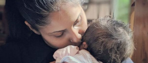 This Picture Of Chhavi Mittal Kissing Her One-Month-Old Baby Boy Is Leaving Us Teary
