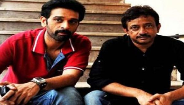 Actor JD Chakravarthy with Director Ram Gopal Varma