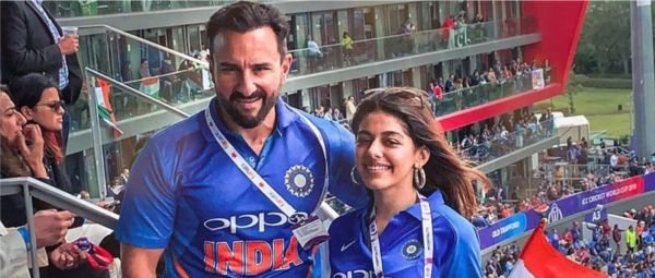 World Cup 2019: Saif Ali Khan Proves He's A True Nawab As A Fan Mocks Him At Ind-Pak Match