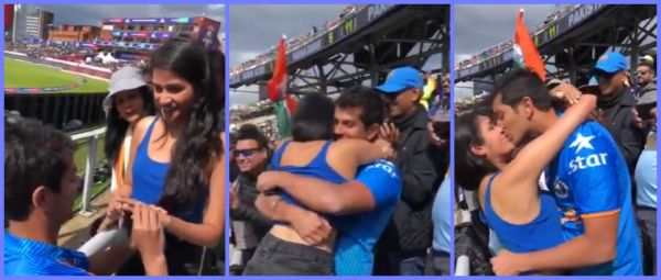 Matchmaking At World Cup 2019: Indian Fan Proposes To Girlfriend At India-Pak Match