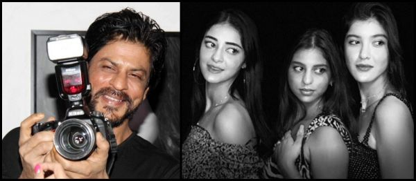 Shah Rukh Khan Shot The Cutest Pictures Of Suhana Khan, Ananya Panday And Shanaya Kapoor!