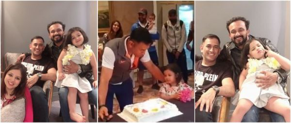 This Video Of Ziva Telling Daddy Dhoni To 'Say Something Na' Before Cake-Cutting Is Gold