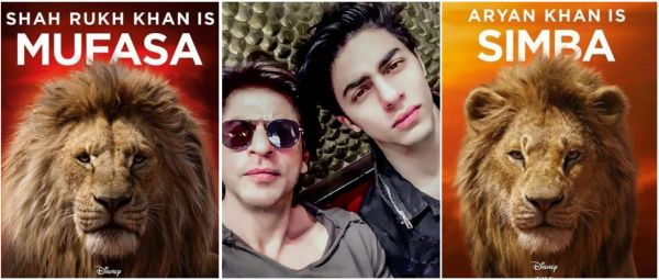 Lion King Teaser: Twitterati Can't Get Over How Similar SRK & Son Aryan's Voices Sound