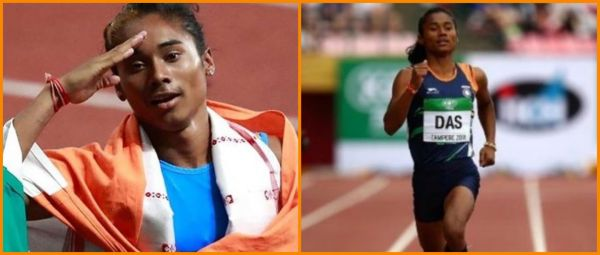Chak De? Chak De! India's Star Sprinter Hima Das Bags 4 Gold Medals In 15 Days