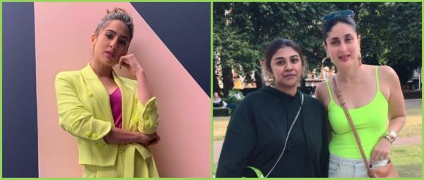 Same Same But Different: Sara Ali Khan & Kareena Kapoor Khan Twin In Neon!