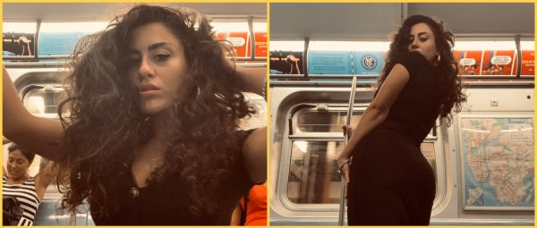 #SelfLove: Woman Orchestrates A Photoshoot In A Train & Twitter Says, 'More Power To You'