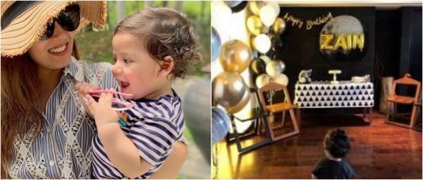 #Awwdorable: Zain Turns One & Mommy Mira Rajput Throws A DIY-Themed Birthday Party
