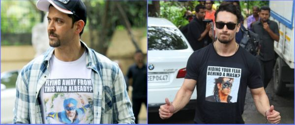 Hrithik Roshan & Tiger Shroff's T-Shirt 'War' Will Leave You In Splits!